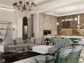 Salon original par Компания архитекторов Латышевых 'Мечты сбываются' Éclectique