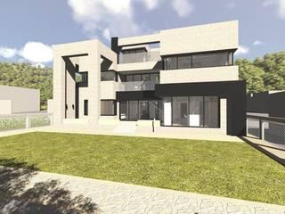 B House: 건축사사무소 어코드 URCODE ARCHITECTURE의 현대 ,모던