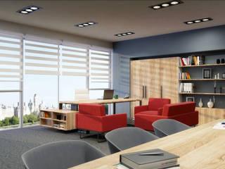 Mımarıf Archıtecture – Ofis Tasarım ve Görselleştirme: modern tarz , Modern