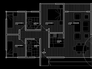 Diseño de Casa Gomez por Lobería Arquitectura:  de estilo  por Loberia Arquitectura