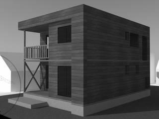 Diseño de Casa Reyes por Lobería Arquitectura de Loberia Arquitectura Mediterráneo