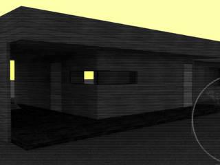 Diseño de Casa 133 por Lobería Arquitectura de Loberia Arquitectura Mediterráneo