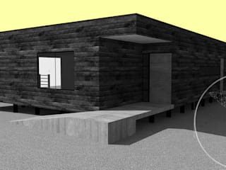 Diseño de Casa Jacob por Lobería Arquitectura de Loberia Arquitectura Mediterráneo