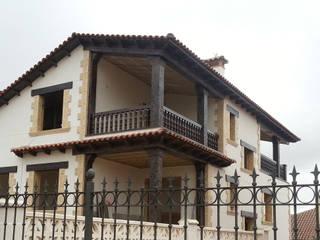 """Vivienda unifamiliar en urbanización """"Las Cañadillas"""", Cuenca capital.: Casas de estilo  de RS-ARQUITECTOS"""