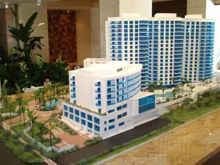 PROYECTO HOTELERO. TOWN HOUSES:  de estilo  por URCODI,