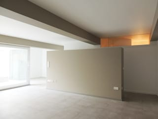 MG arquitectos Modern living room
