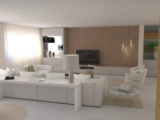 Modern living room by Ana Andrade - Design de Interiores Modern