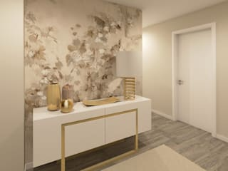 Modern corridor, hallway & stairs by Ana Andrade - Design de Interiores Modern