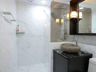 Bathroom by inark [인아크 건축 설계 디자인], Minimalist
