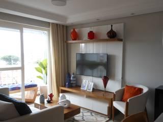 Sala de Estar : Salas de estar  por Arquiteta Elaine Silva