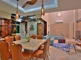 private residence project Modern dining room by Vinyaasa Architecture & Design Modern