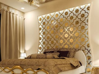 high end private residence project Classic style bedroom by Vinyaasa Architecture & Design Classic