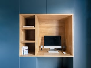 Anne Lapointe Chila Study/office Wood Blue