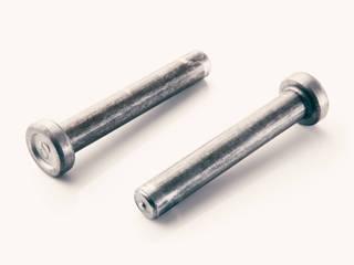 Bayrakcı İnşaat Metal Sanayi ve Ticaret Limited Şirketi – STUD ÇİVİSİ & KAYMA KAMASI:  tarz , Endüstriyel