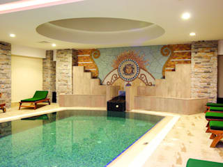 Hoteles de estilo  de DESTONE YAPI MALZEMELERİ SAN. TİC. LTD. ŞTİ. , Rústico