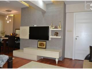 Living room by Bünyamin Erdemir Tasarım ve Uygulama, Modern