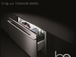 Built-in kitchens by Bünyamin Erdemir Tasarım ve Uygulama,