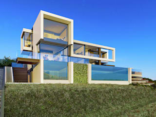 Villa in Limassol (Cyprus):  в . Автор – ALEXANDER ZHIDKOV ARCHITECT,