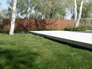 Polder karakteristieken Moderne tuinen van Andrew van Egmond (ontwerp van tuin en landschap) Modern