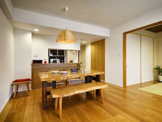 お気に入りの家具との暮らし。活かすのは職人技の造作: 株式会社スタイル工房が手掛けたです。