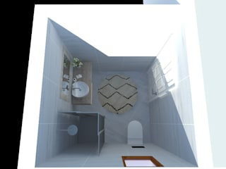 Modern style bathrooms by kübra meltem doğan Modern