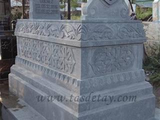 Taş Detay – granit mezar taşı :  tarz