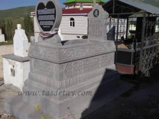 Taş Detay – granit mezar:  tarz