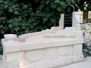 Taş Detay – mermer mezar taşı:  tarz