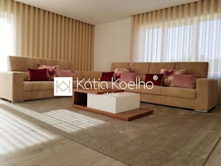 Living room by Atelier Kátia Koelho, Modern