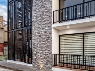 Condominios de estilo  por TAP Taller de Arquitectura y Paisajismo