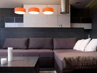 Яркий элегантный интерьер Гостиная в скандинавском стиле от 'Комфорт Дизайн' Скандинавский