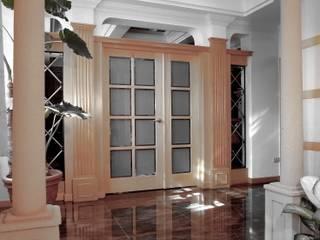 大溪莊園別墅- 陳公館 經典風格的走廊,走廊和樓梯 根據 京采空間設計 古典風