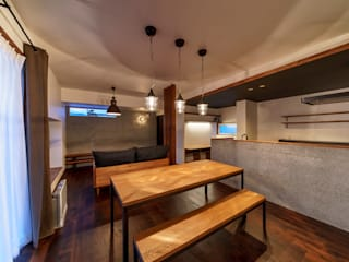 HouseY3: 一級建築士事務所 ima建築設計室が手掛けたダイニングです。,
