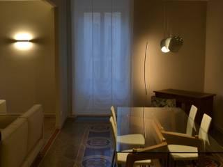Zona giorno - pranzo: Sala da pranzo in stile  di AreaNova officina di architettura