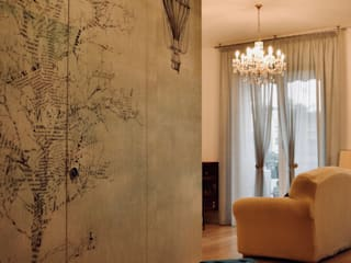Eclectic style living room by AreaNova officina di architettura Eclectic