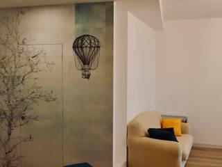 Soggiorno: Soggiorno in stile  di AreaNova officina di architettura
