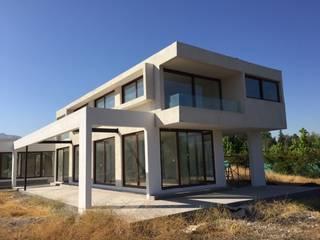 Construcción de Casa en Santiago por ARQSOL: Casas unifamiliares de estilo  por Arqsol