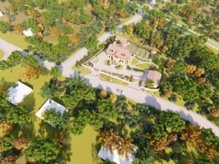 Жилой дом в деревне Глуховка Дома в скандинавском стиле от Дмитрий Федчун Скандинавский