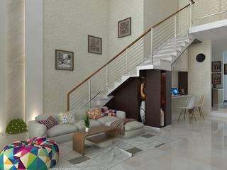 Interior Wahid Hasim Semarang:  Ruang Keluarga by Arsitekpedia