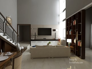 Ruang Keluarga 2:  Ruang Keluarga by Arsitekpedia