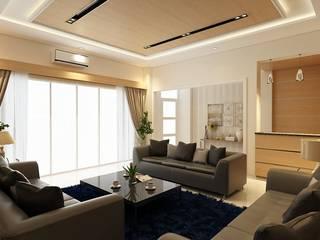 Living Room Solo:  Ruang Keluarga by Arsitekpedia