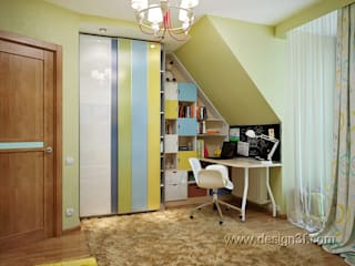 студия Design3F Nursery/kid's room Green