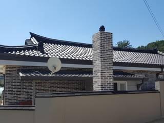 성주한옥 리모델링: (주)현대디자인건축의 현대 ,모던