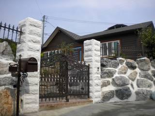 청솔 월막리 32평 리모델링: (주)현대디자인건축의 현대 ,모던