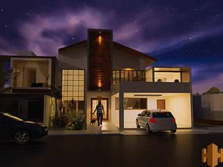 Projetos 3D por Paulo Hirakawa Arquitetura Moderno