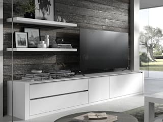 Decordesign Interiores Living roomTV stands & cabinets White