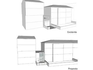 Loft na Cidade. Antes e depois da intervenção:   por Nuno Ladeiro, Arquitetura e Design
