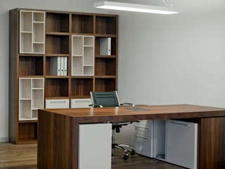 MARSHEL DUART SRL Modern Study Room and Home Office
