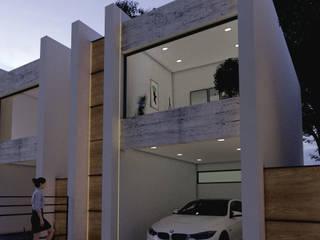 casa cancun: Casas pequeñas de estilo  por ELOARQ,