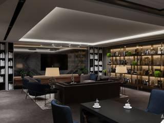 Salas multimedia de estilo ecléctico de Студия авторского дизайна ASHE Home Ecléctico